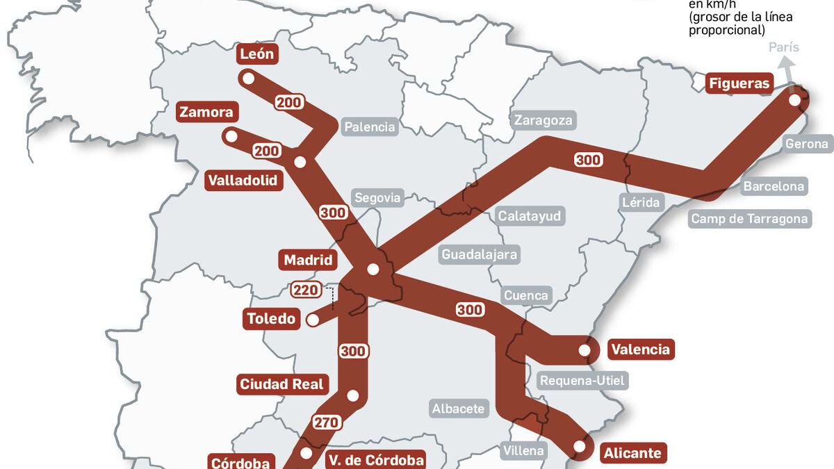 Linea De Alta Velocidad Madrid Sevilla El Ave Vuela Mas Despacio