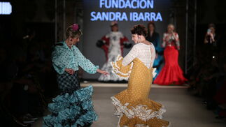 El desfile de la Fundación Sandra Ibarra  de We Love Flamenco en fotos