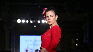 Daniel Robles, las fotos del desfile en We Love Flamenco 2019