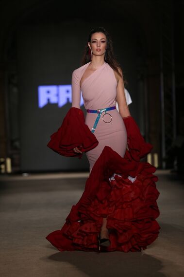 Javier Mojarro, fotos del desfile en We Love Flamenco 2019