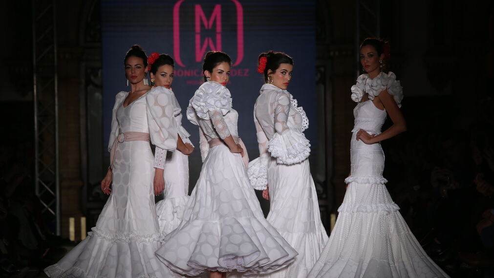 Mónica Méndez, fotos del desfile en We Love Flamenco 2019