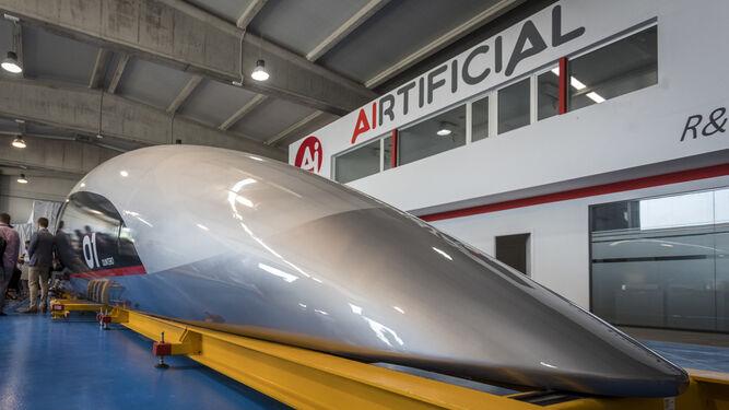 El tren ultra veloz que desarrolla Airtificial.