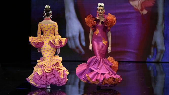 f067761dd Flamenca ecléctica en el primer día de Simof