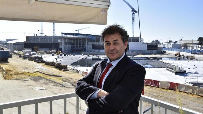 José Antonio García Agüera, director de promoción y logística de centros comerciales del Grupo Lar.