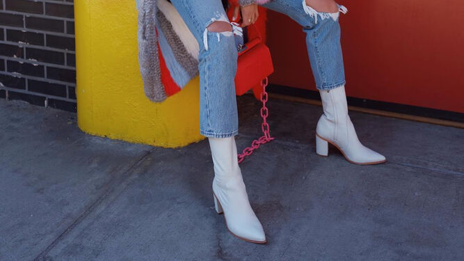 f6737730 Los botines blancos son uno de los calzados estrella de la temporada ...