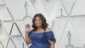 <p>Octavia Spencer, de Christian Siriano</p>