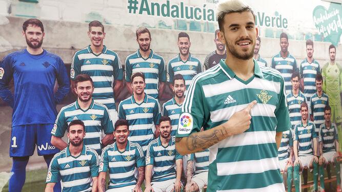 El Betis presenta su camiseta especial por el Día de Andalucía d50f05e64a3b1