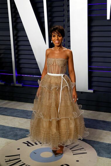 <p>Kerry Washington, de Schiaparelli</p>