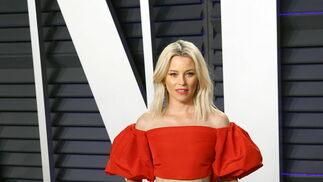 <p>Elizabeth Banks, de Monique Lhuillier</p>