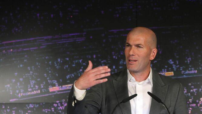 Zidane Nuevo Entrenador Del Madrid