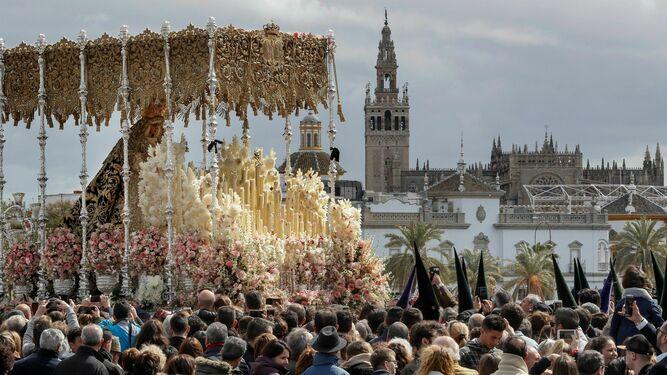 Procesión en Sevilla