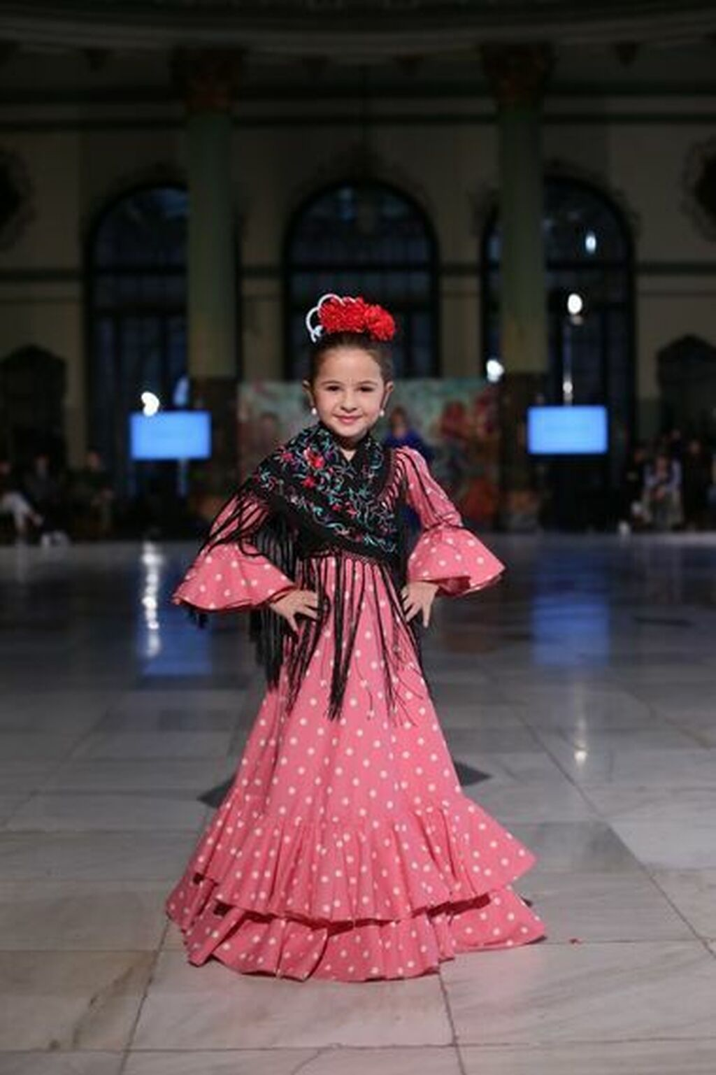 e888f4379 Trajes de flamenca para niña, las tendencias de 2019