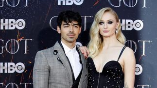 <p>Joe Jonas y Sophie Turner.</p>