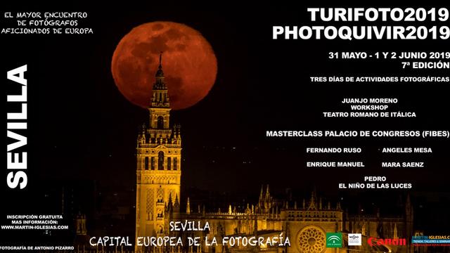 f52ab27a1 La Giralda y la superluna, protagonistas del cartel del VII  Turifoto-Photoquivir 2019