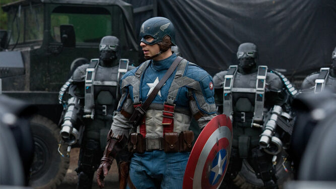 Resultado de imagen de Capitán América, primer vengador