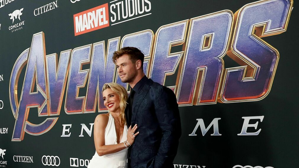 <p>Elsa Pataky y Chris Hemsworth</p><br>