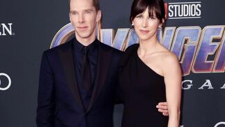 <p>Benedict Cumberbatch y Sophie Hunter</p><br>