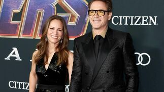 <p>Susan Downey y Robert Downey Jr.</p><br>