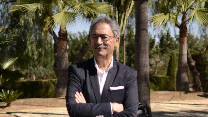 Eustaquio Castaño, alcalde de Sanlúcar la Mayor