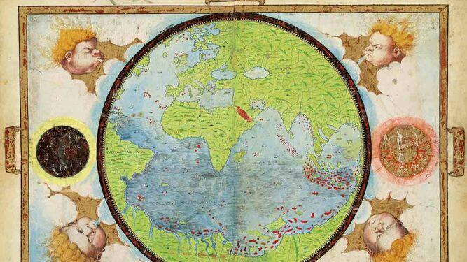'Atlas Miller, Planisferio'.