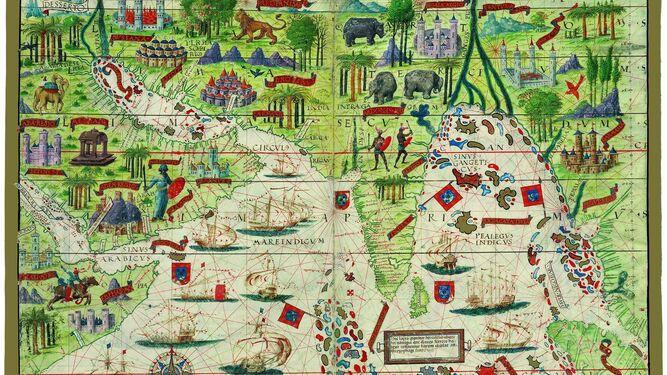 'Atlas Miller (1519), océano Índico'.