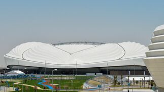 Este es el espectacular estadio Al Wakrah de Catar