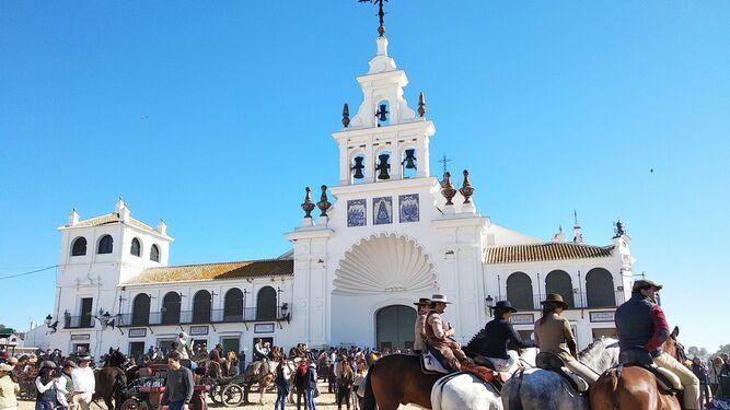 La ermita del Rocío.