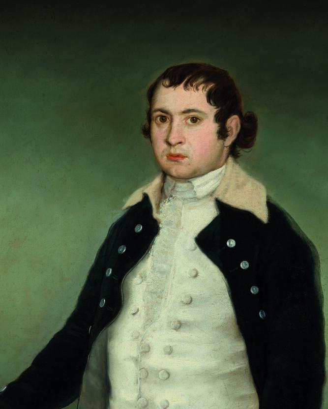 Antonio Adán de Yarza, pintado por Goya.