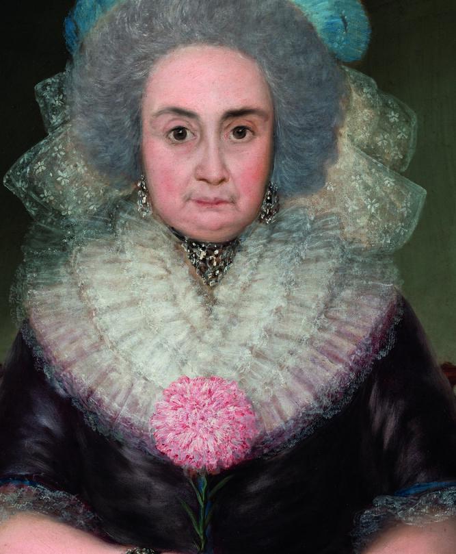 El retrato de Bernarda de Tavira.