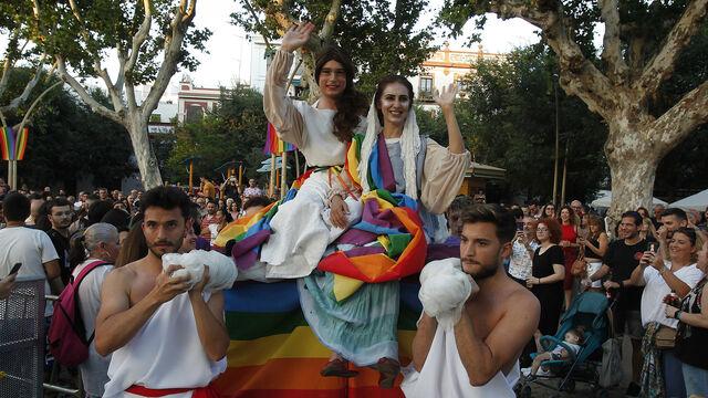 Marcha del orgullo (LGTBI) en Sevilla 2018
