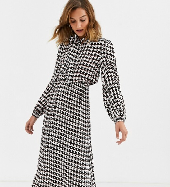 Vestidos midi Asos: la opción perfecta para la oficina por