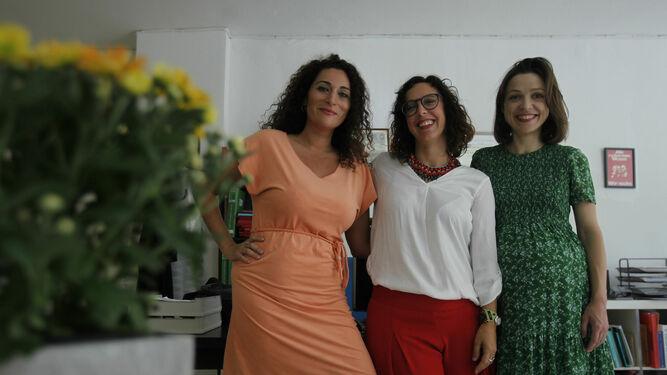 Pastora Filigrana, Rocío Mendoza y Noelia Rodríguez