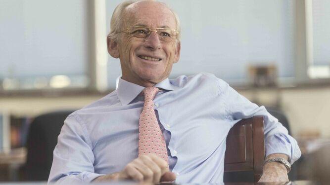 Beltrán Calvo, presidente del Círculo de Empresarios de la Cartuja.