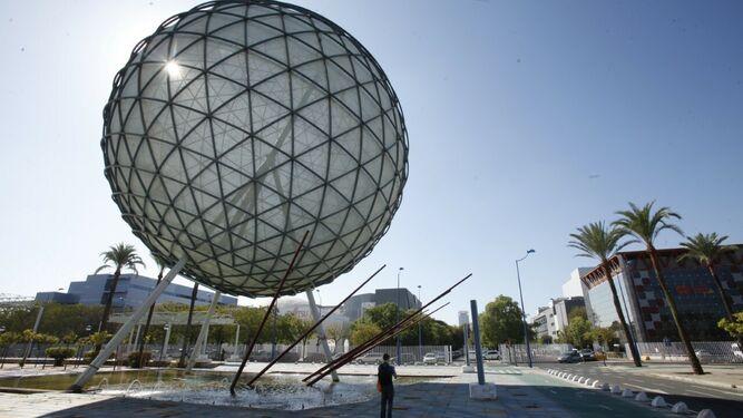 Esfera bioclimática, legado de la Expo.