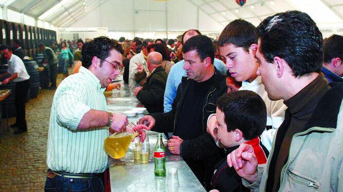 En la Fiesta del Mosto 2109 se repartirán 8.000 litros de vino gratis.