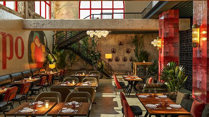 El Espacio Cruzcampo tendrá una sala donde se servirán los platos elaborados en la escuela de hostelería.
