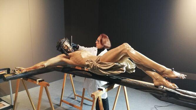 El Cristo de la Clemencia vuelve al museo 174 años después