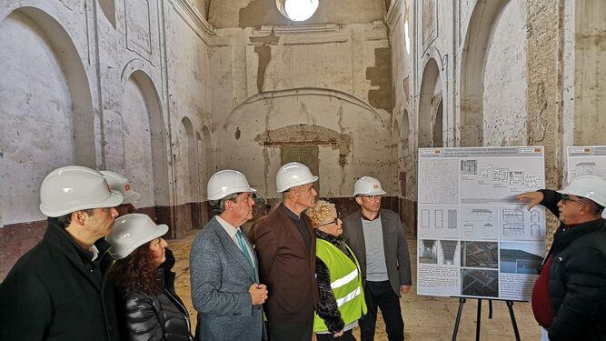 Comienza la esperada rehabilitación de la antigua iglesia de San Laureano