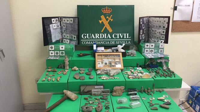 Detenido por vender piezas arqueológicas de gran valor histórico a través de internet