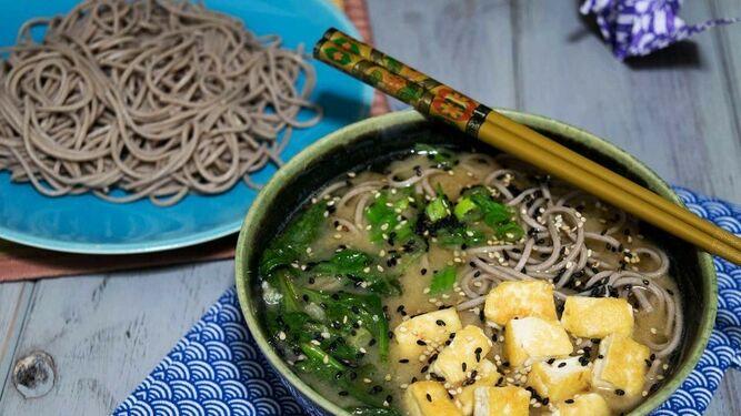 Receta De Sopa De Miso Con Noodles