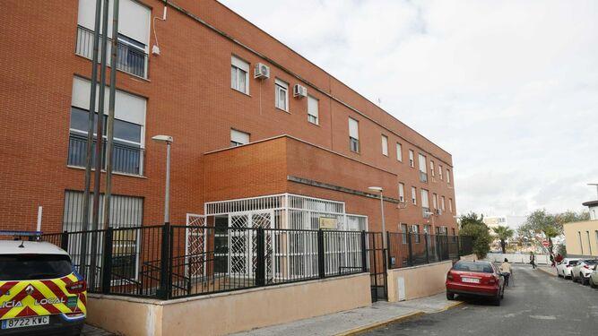 El cuartel de la Guardia Civil de Castilleja de la Cuesta.