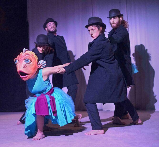 'Uanna' se representa este fin de semana en el Teatro Távora a las 12:30.