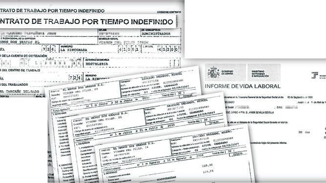 Los documentos falsificados para la obtención del préstamo del piso de León XIII