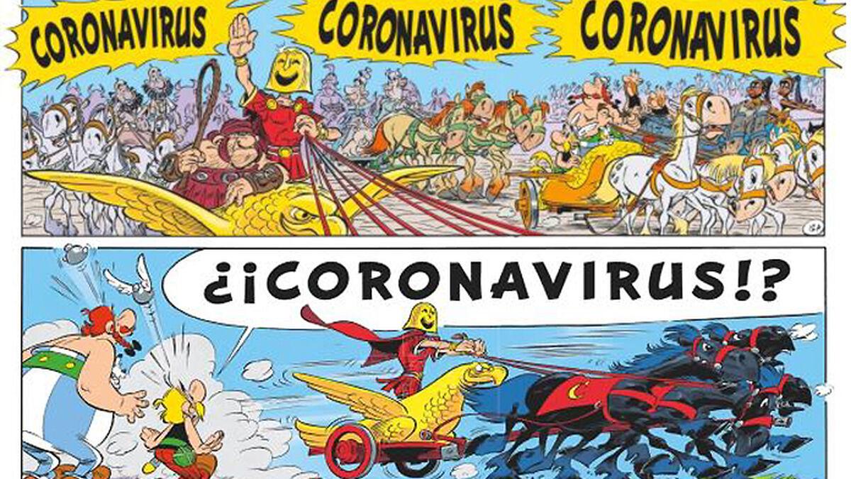 Astérix Y Obélix Contra Coronavirus