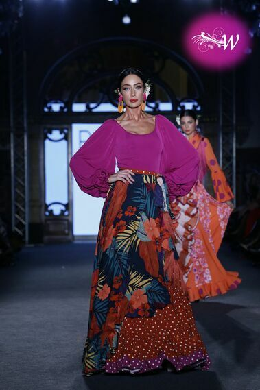 Desfile de El Ajolí en We Love Flamenco 2020
