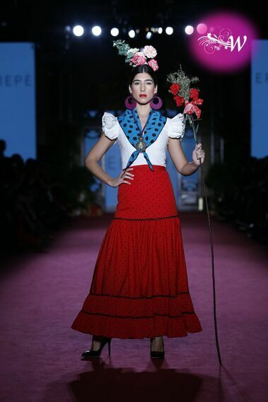Desfile de Errepé en Viva We Love Flamenco 2020
