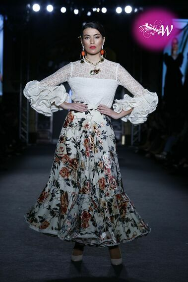 Desfile de Mónica Méndez en We Love Flamenco 2020
