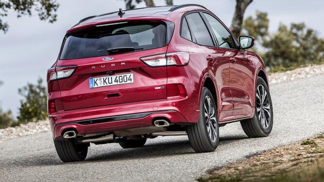 Nuevo Ford Kuga Asi Es El Primer Hibrido Enchufable Fabricado En Espana