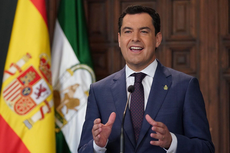 Juanma Moreno espera que se pueda viajar por toda España a mediados de junio