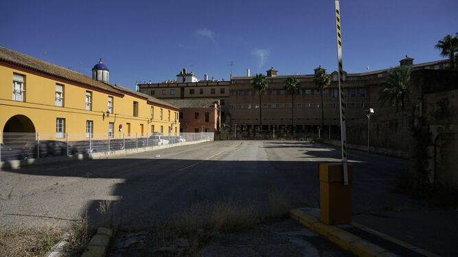 Solar del antiguo Corral de las Herrerías.